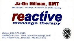 Son Ja-On: Reactive Massage Therapy Clinic
